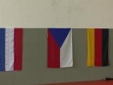 Nederlandse- , Tsjechische- en Duitse vlag