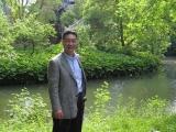 Shishiya in de kasteel tuin