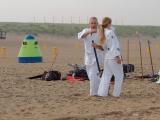 Ed en Denise met wapenstok