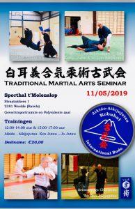 Traditional Martial Arts seminar @ Sporthal t'Molenslop (België)